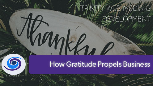Gratitude Propels Business