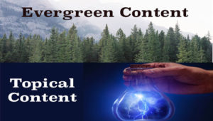 What's the Right Balance Between Topical and Evergreen Content? - Trinity Web Media & Development