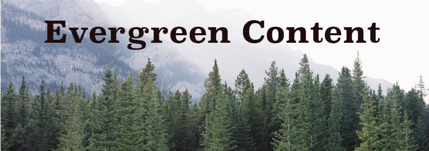 Evergreen Content - Trinity Web Media