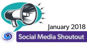 January Social Media Shout Out