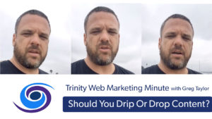 Content Distribution: Drip or Drop
