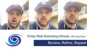 Basic Digital Marketing: Review Refine Repeat