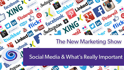 What's Important With Social Media, Episode #15 The New Marketing Show: What's Important With Social Media
