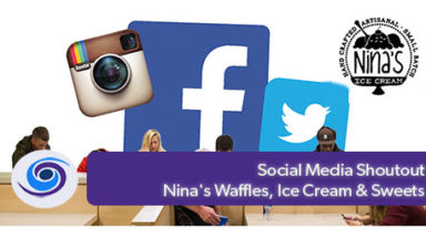 Social Media Shoutout: Nina's Waffles, Ice Cream & Sweets