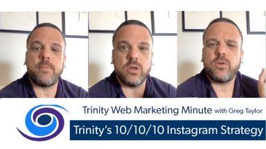 Trinity's 10/10/10 Instagram Strategy