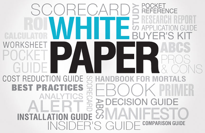 White paper, What Could a White Paper Do for You?