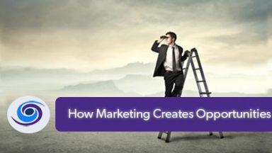 Marketing Creates Opportunity