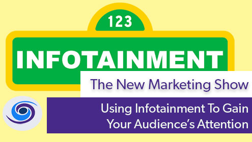 Episode #24 The New Marketing Show: The Value of Infotainment