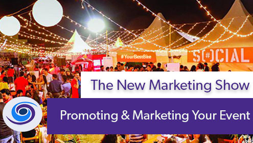 Episode #22 The New Marketing Show: Promoting and Marketing Your Events