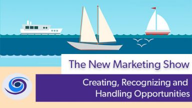 Episode #23 The New Marketing Show: Creating, Recognizing and Handling Opportunities