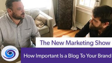 Episode #26 The New Marketing Show: How Important Is a Blog To Your Brand