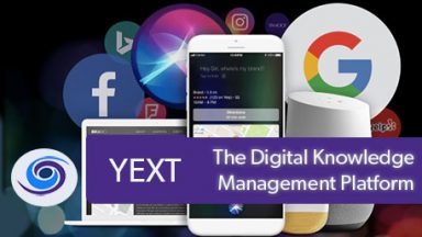 YEXT: Digital Knowledge Management Platform