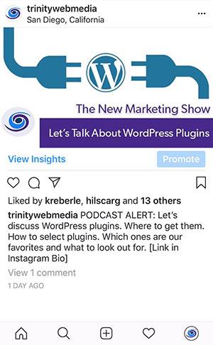 Instagram Landing Page, Instagram Landing Page With WordPress