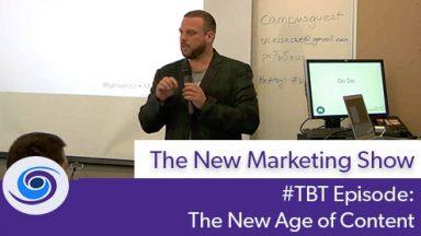 #TBT Bonus Content: The New Age of Content • WordCamp Sacramento