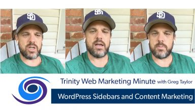 WordPress Sidebars and Content Strategy