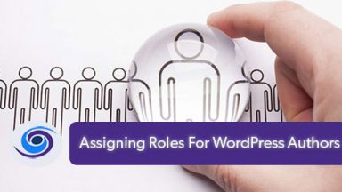 Assigning Roles For WordPress Authors