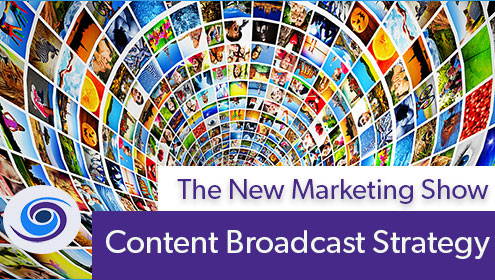 Episode #36 The New Marketing Show: Content Broadcast Strategy