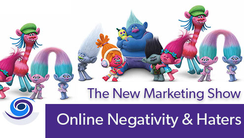 Episode #37 The New Marketing Show: Handling Negative Reviews and Online Haters