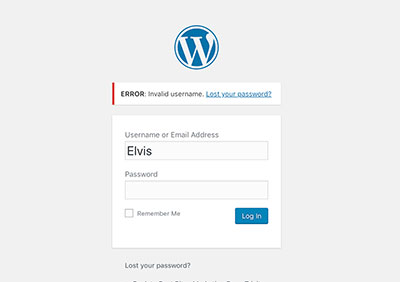 How To Perform A WordPress Password Reset