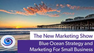 Episode #55 The New Marketing Show: Blue Ocean Marketing For Small Business