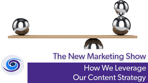 Episode #52 The New Marketing Show: How We Leverage Content