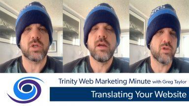 Translating Your website