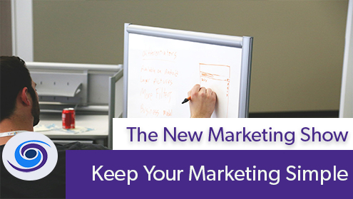 Episode #58 The New Marketing Show: Keep Your Marketing Simple