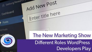 Roles WordPress Developers Play
