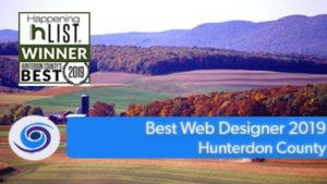 Best Web Designer Hunterdon County 2019