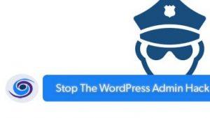 WordPress Admin Hack