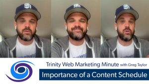 Importance of a Content Schedule