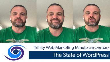 The State of WordPress