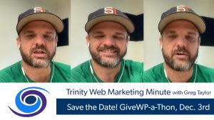 Save the Date! GiveWP-a-Thon, Dec. 3rd