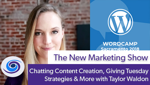 Chatting Content Creation, Giving Tuesday Strategies & More with Taylor Waldon