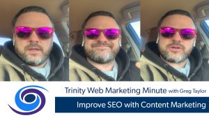 Improve SEO with Content Marketing