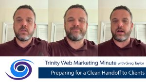 Preparing for a Clean Handoff to Clients