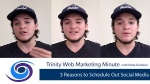 3 Reasons to Schedule Out Social Media