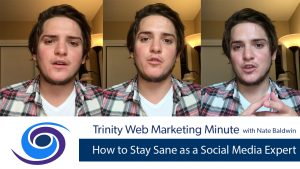 How to Stay Sane as a Social Media Expert